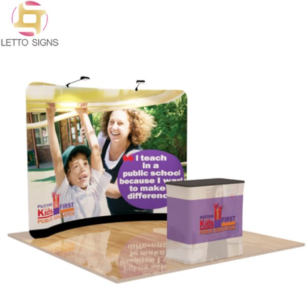10ft-Curved-Tension-Fabric-Display-with-Case-to-Podium_TF-B-02_Main
