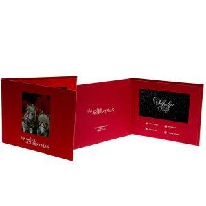 LCD Digital Video Greeting Card Video Brochure Booklet