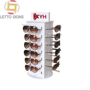 18 Years China Factory Retail Store Eyeglass Rotating Acrylic Display Rack Sunglass Stand